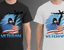 Nro 16 kilpailuun Design a T-Shirt that supports USA Military and/or USA Veterans käyttäjältä jonydep