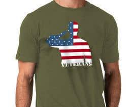 Nro 7 kilpailuun Design a T-Shirt that supports USA Military and/or USA Veterans käyttäjältä NamalPriyakantha