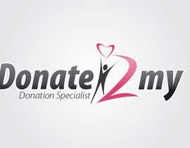 #192 za Logo Design for Donate2My od shrikumar