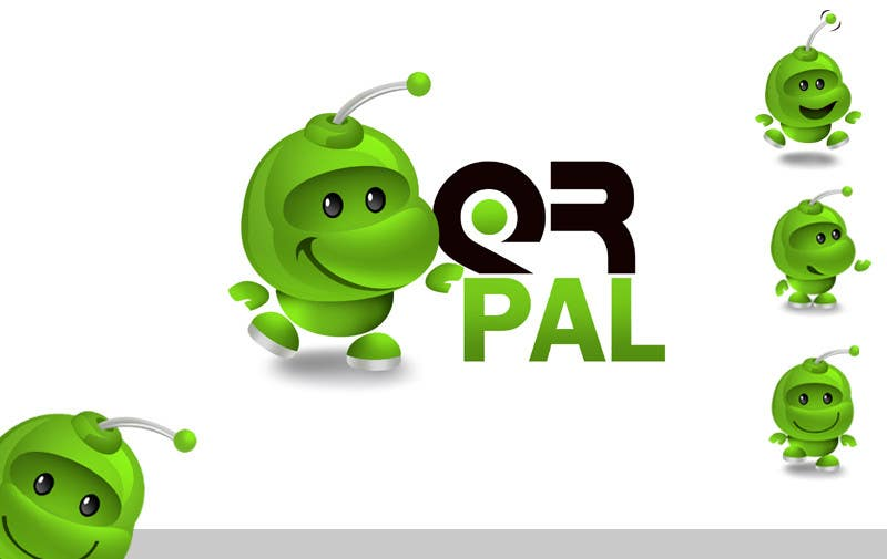 #296 for Logo Design for QR Pal by pinky