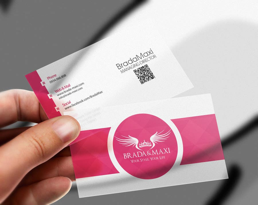 Contest Entry 90 For What Is A SIMPLE But CREATIVE Business Card Fashion Shops