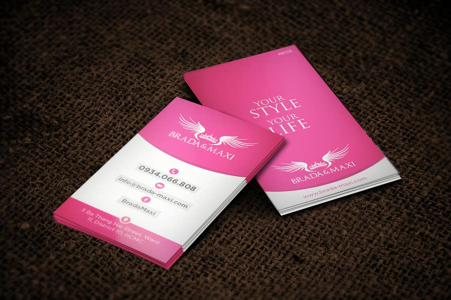 Contest Entry 30 For What Is A SIMPLE But CREATIVE Business Card Fashion Shops