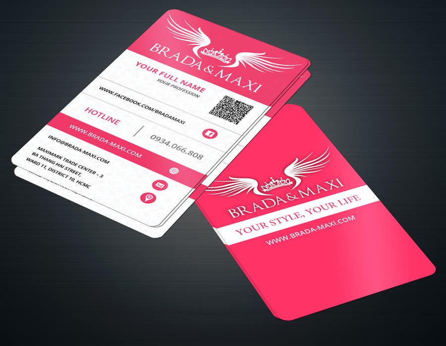 Contest Entry 43 For What Is A SIMPLE But CREATIVE Business Card Fashion Shops