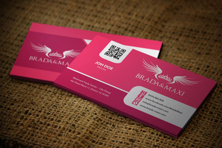 Contest Entry 149 For What Is A SIMPLE But CREATIVE Business Card Fashion Shops