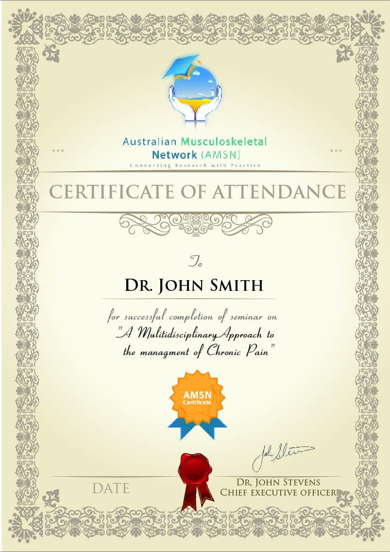 Inscrição nº                                         18                                      do Concurso para                                         Certificate of attendance for our events