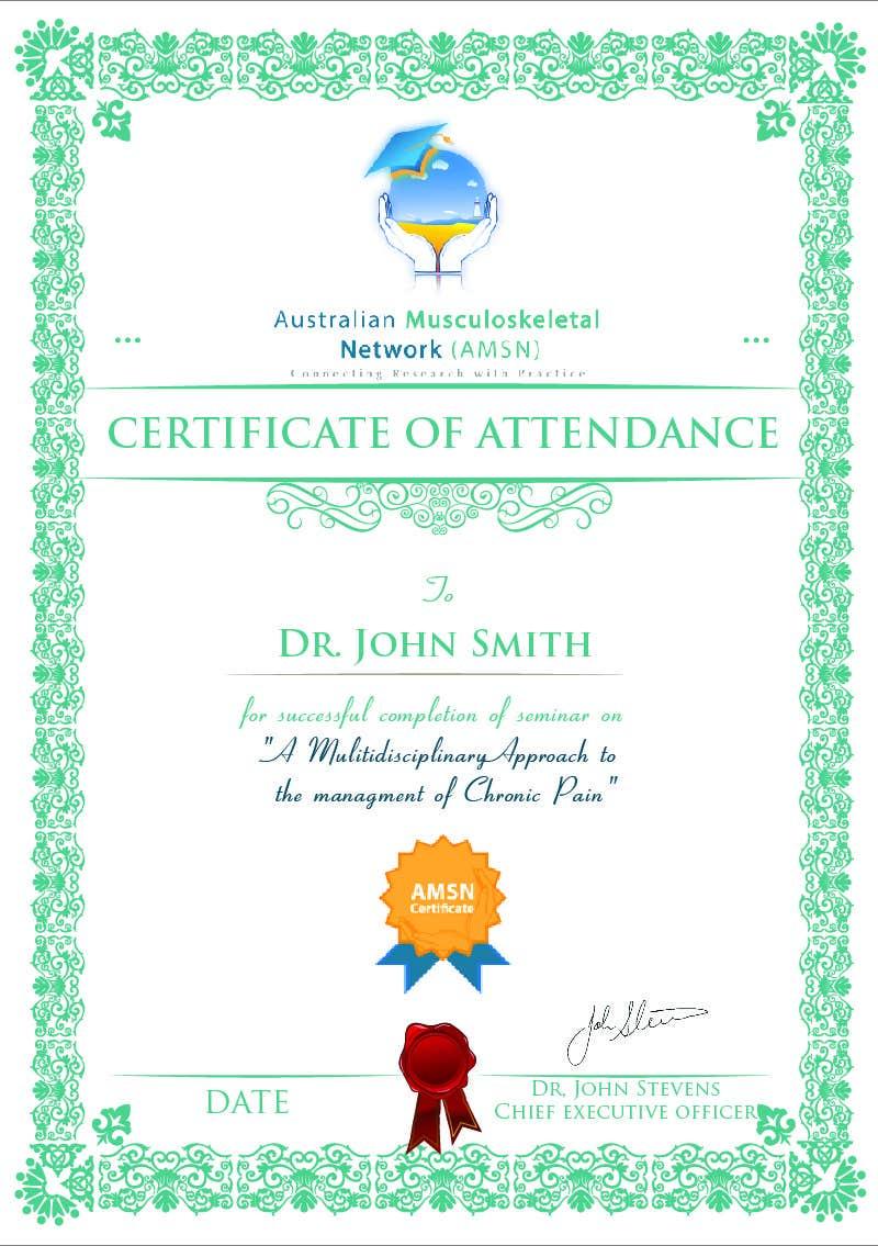 Inscrição nº                                         20                                      do Concurso para                                         Certificate of attendance for our events