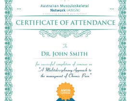 #21 para Certificate of attendance for our events por clementalwin
