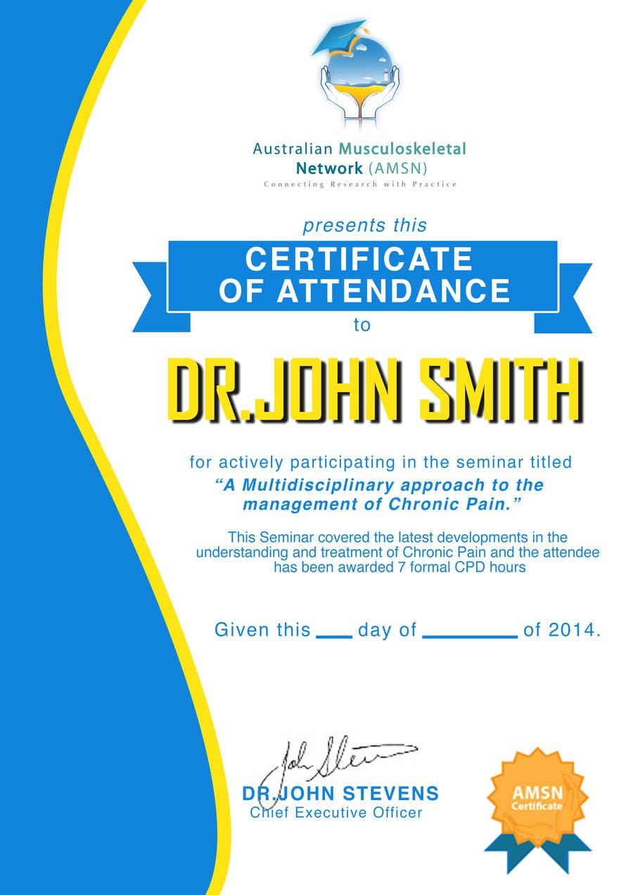 Inscrição nº                                         17                                      do Concurso para                                         Certificate of attendance for our events