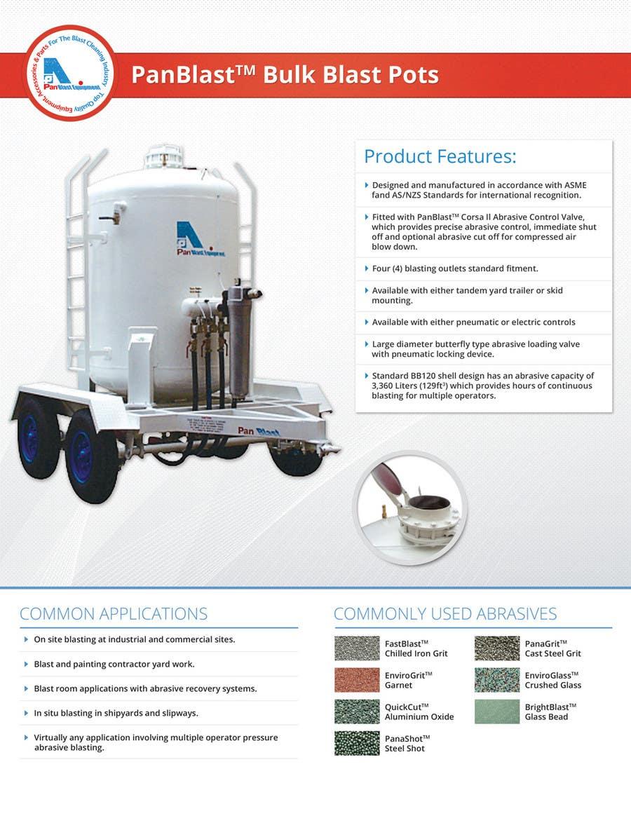 Konkurrenceindlæg #                                        7                                      for                                         New Brochures - Graphic Design for Pan Abrasives