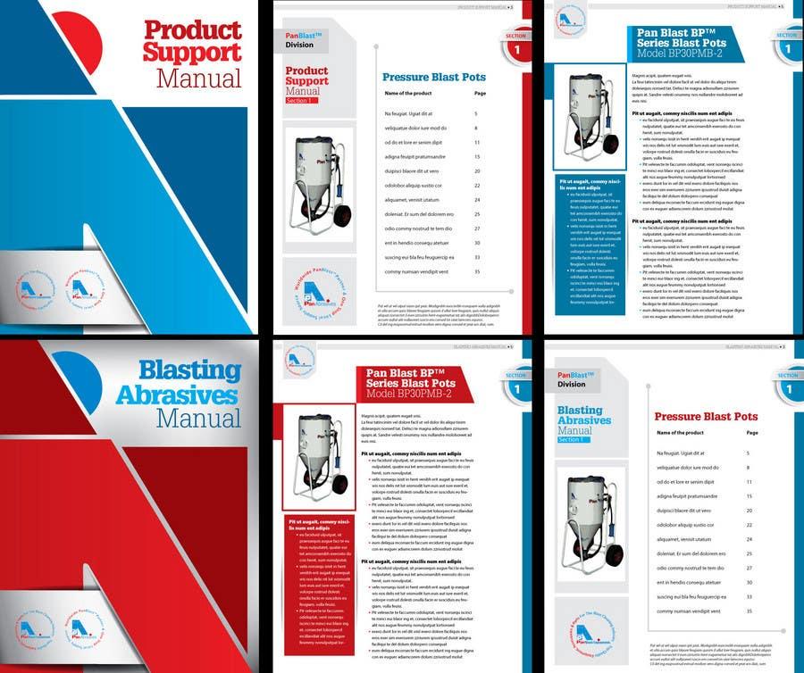 Konkurrenceindlæg #                                        5                                      for                                         New Brochures - Graphic Design for Pan Abrasives