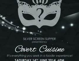 #14 para Design a Flyer for Silver Screen Supper por mthmb