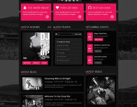 #9 for Create a Wordpress Template for Existing Design Theme af tegonity