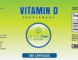 #18 for Doctor C's Own Health Supplements Label Design Contest! af ccet26