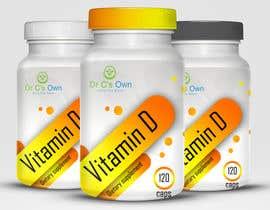 #11 for Doctor C's Own Health Supplements Label Design Contest! af viktormanchev