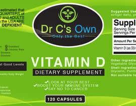 #12 for Doctor C's Own Health Supplements Label Design Contest! af ibanezdustin1314