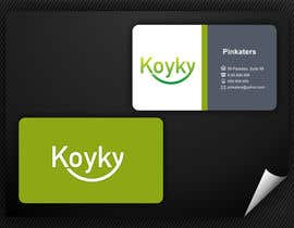 #88 para Logo Design for Koyky por saiyoni