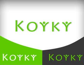 #189 for Logo Design for Koyky by baloulinabil