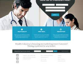 #54 para Deliver a STUNNING Landing Page! por GraphicDsgn