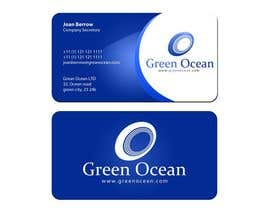 #568 para Logo and Business Card Design for Green Ocean por farhanpm786