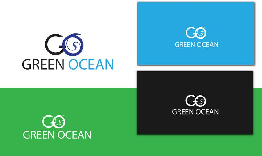 Penyertaan Peraduan #                                        559                                      untuk                                         Logo and Business Card Design for Green Ocean