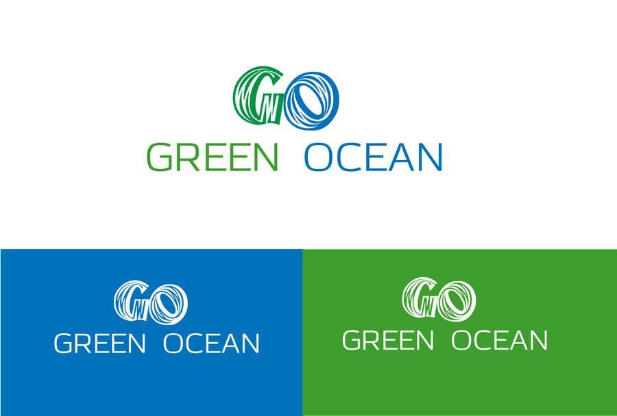 Penyertaan Peraduan #                                        701                                      untuk                                         Logo and Business Card Design for Green Ocean
