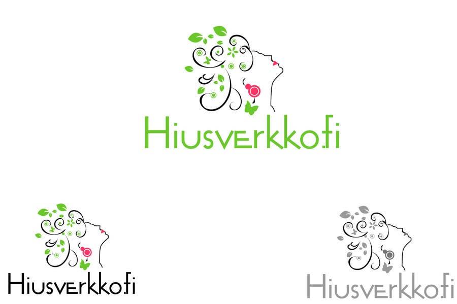 Конкурсная заявка №136 для Logo Design for Hiusverkko.fi
