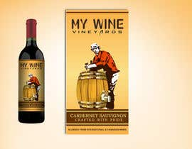 nº 40 pour Graphic Design for An online custom wine label company par PMcreatives