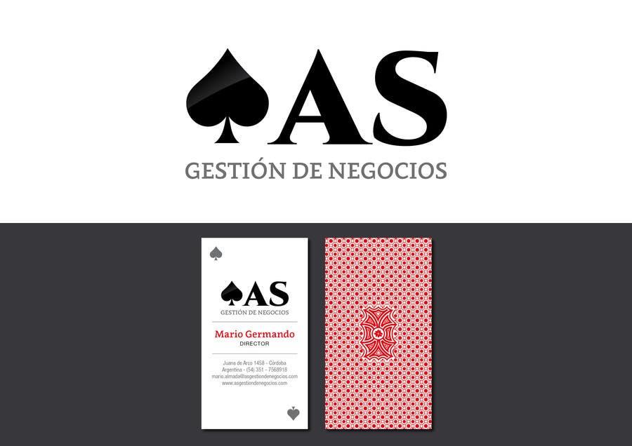 Penyertaan Peraduan #                                        34                                      untuk                                         Diseñar un logotipo for AS - Gestión de Negocios