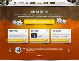 #27 for Design a Website for Game Guild Hosting Company af arcBshopEyek