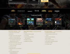 #3 for Design a Website for Game Guild Hosting Company af webidea12