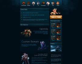 #11 for Design a Website for Game Guild Hosting Company af chubi91