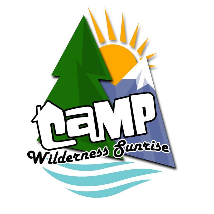 Contest Entry #                                        43                                      for                                         Logo Design for Camp Wilderness Sunrise