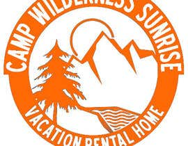 Mjauu tarafından Logo Design for Camp Wilderness Sunrise için no 109