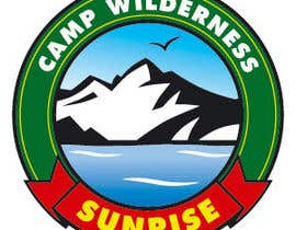 #45 cho Logo Design for Camp Wilderness Sunrise bởi IvanGorovoy