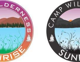#76 para Logo Design for Camp Wilderness Sunrise por akshitb