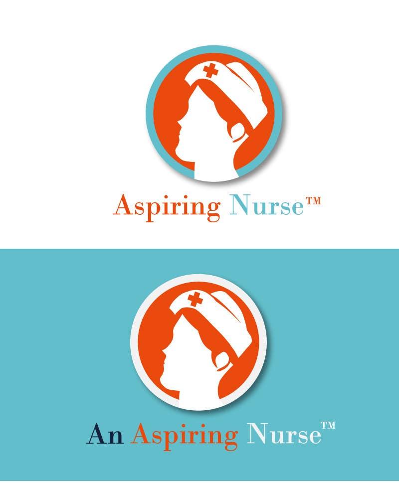 Kilpailutyö #                                        36                                      kilpailussa                                         Logo design for aspiring nurse