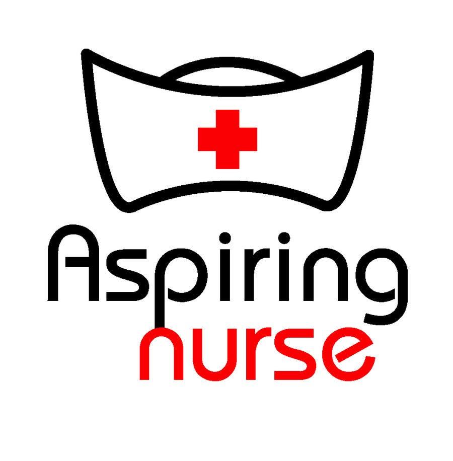 Kilpailutyö #                                        83                                      kilpailussa                                         Logo design for aspiring nurse