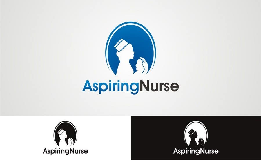 Kilpailutyö #                                        75                                      kilpailussa                                         Logo design for aspiring nurse