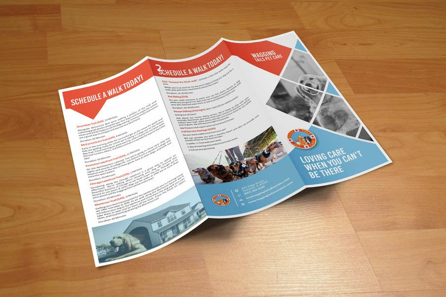 Contest Entry #                                        6                                      for                                         Design a brochure for a pet care company