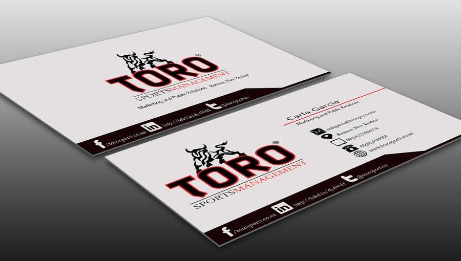 Penyertaan Peraduan #                                        10                                      untuk                                         Design a Business Cards for a Sports Company