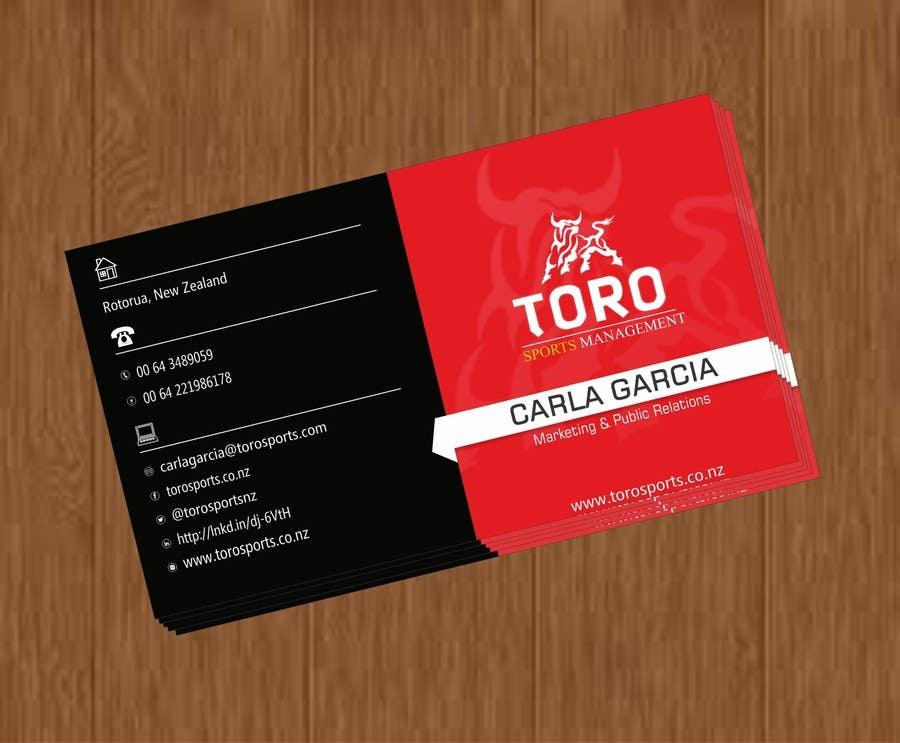 Penyertaan Peraduan #                                        27                                      untuk                                         Design a Business Cards for a Sports Company