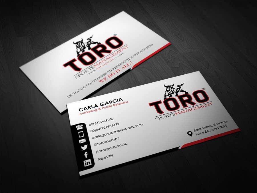 Penyertaan Peraduan #                                        2                                      untuk                                         Design a Business Cards for a Sports Company
