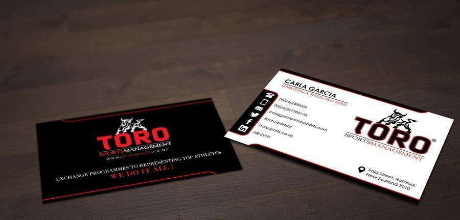 Penyertaan Peraduan #                                        7                                      untuk                                         Design a Business Cards for a Sports Company