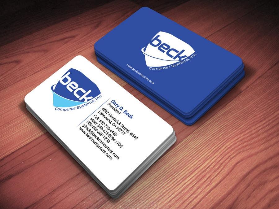 Penyertaan Peraduan #37 untuk Design some Business Cards