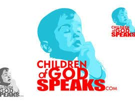 nº 70 pour Logo Design for www.childrenofgodspeaks.com par dimitarstoykov