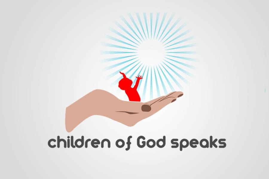 Конкурсная заявка №102 для Logo Design for www.childrenofgodspeaks.com