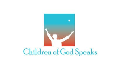 #90 para Logo Design for www.childrenofgodspeaks.com por paxslg
