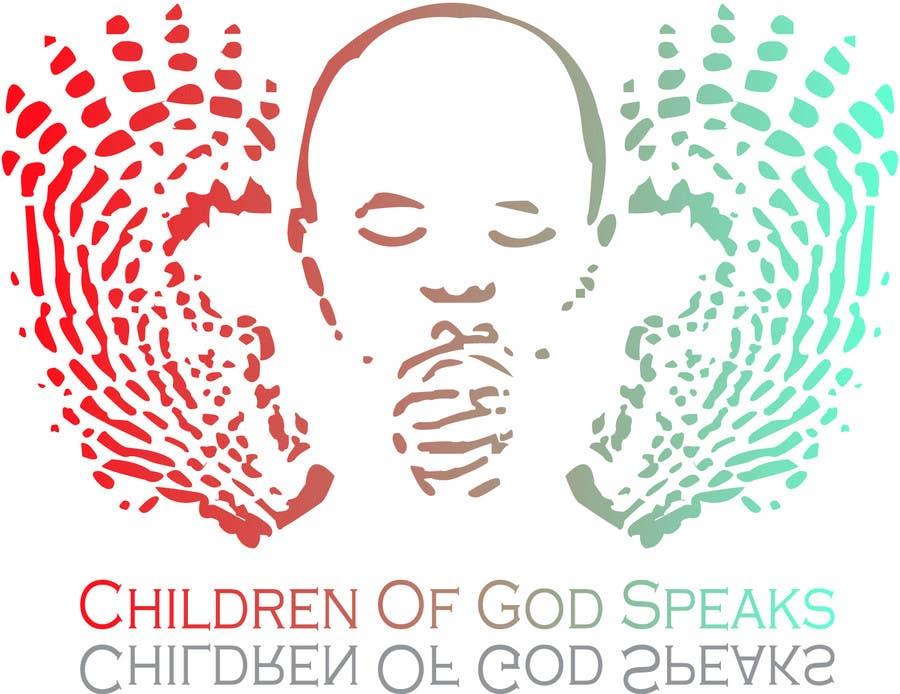 Конкурсная заявка №92 для Logo Design for www.childrenofgodspeaks.com