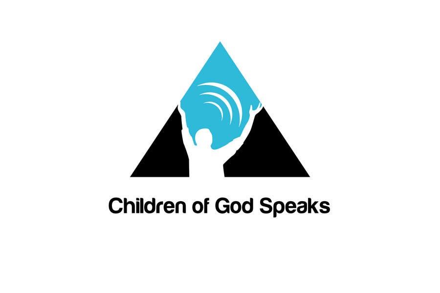 Конкурсная заявка №98 для Logo Design for www.childrenofgodspeaks.com