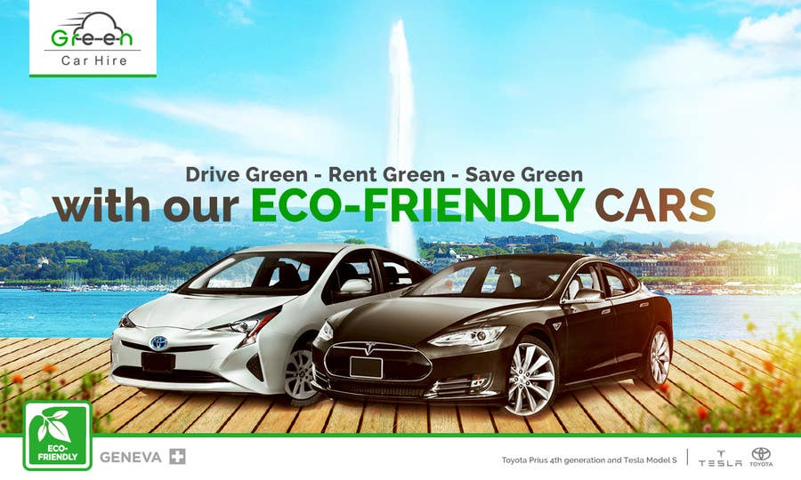 Entry 30 By Gfxalex12 For Design A Banner For Rental Car Company In Switzerland Freelancer